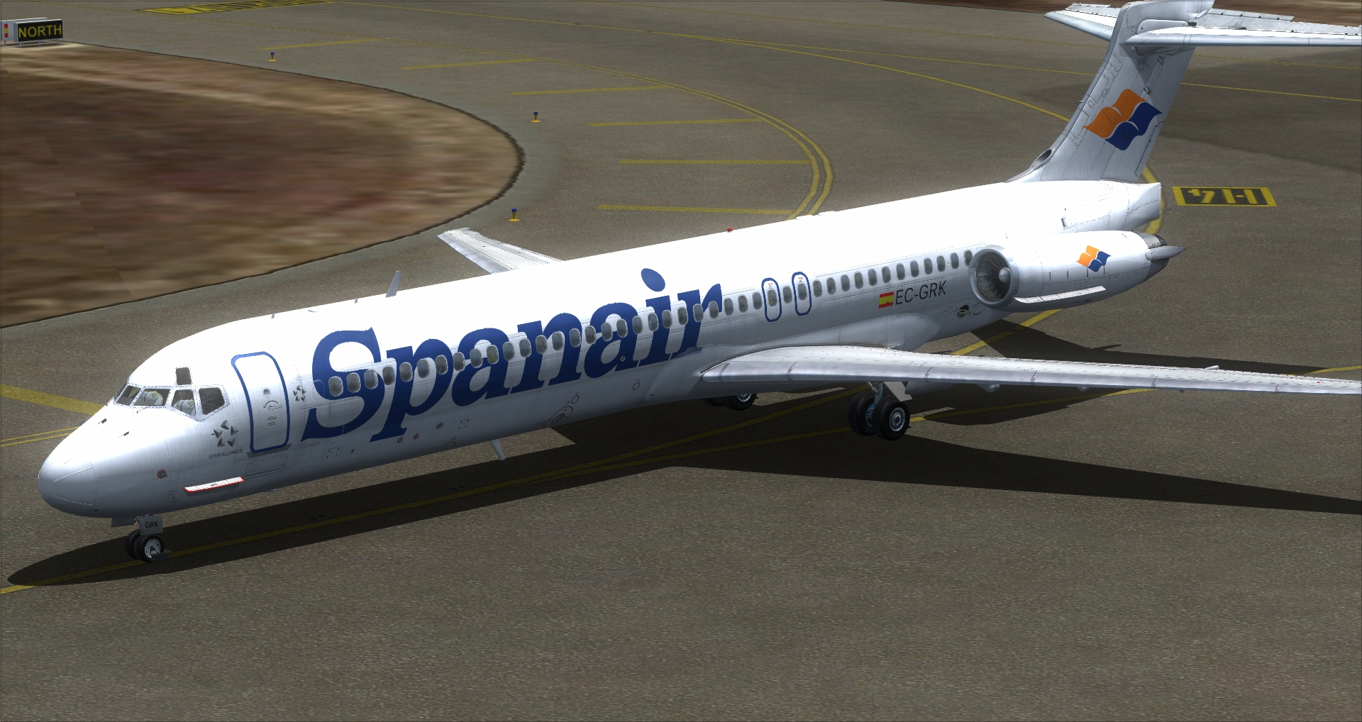 Commercial Level Simulations - MD80 RM liveries